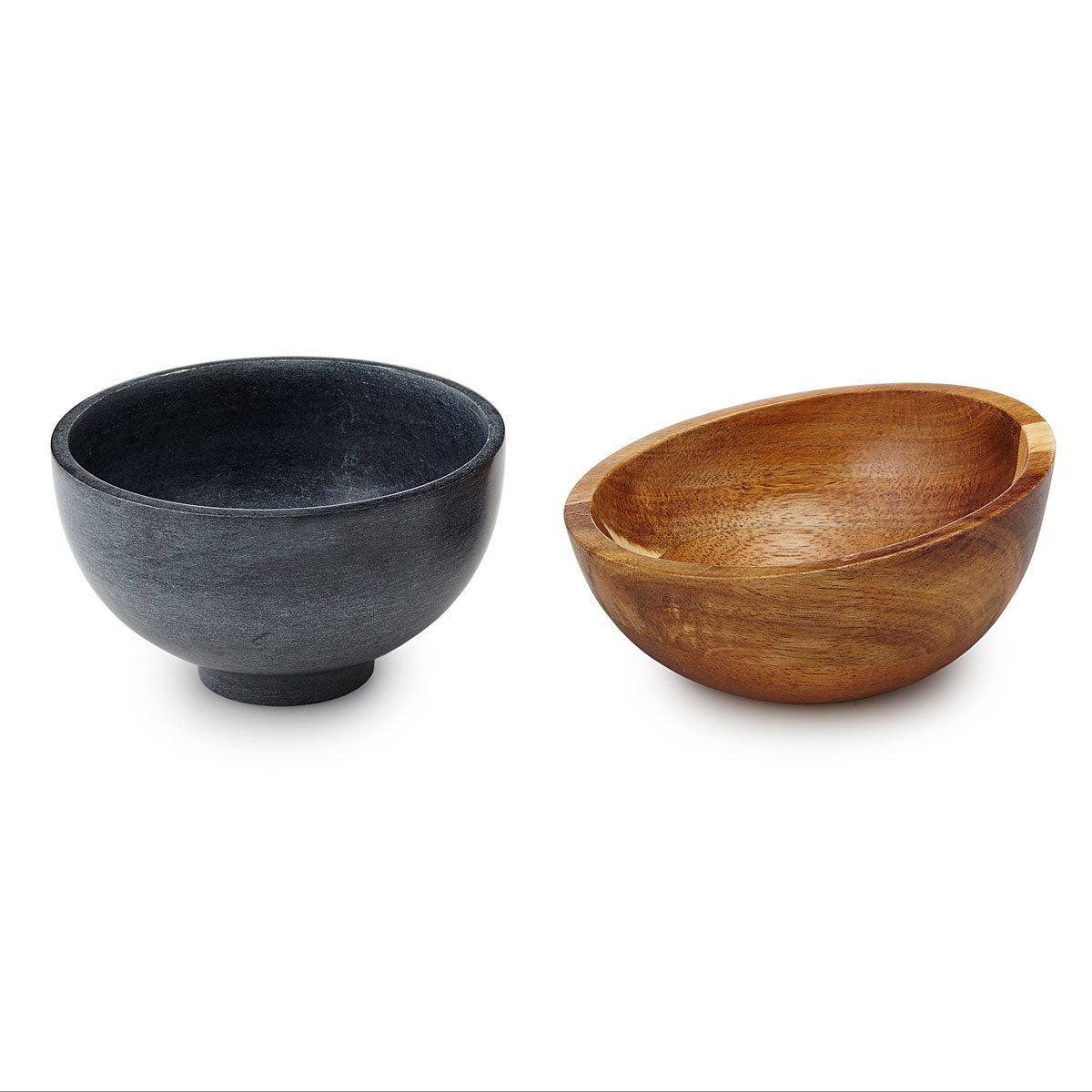 Hot And Cold Soapstone Bowls