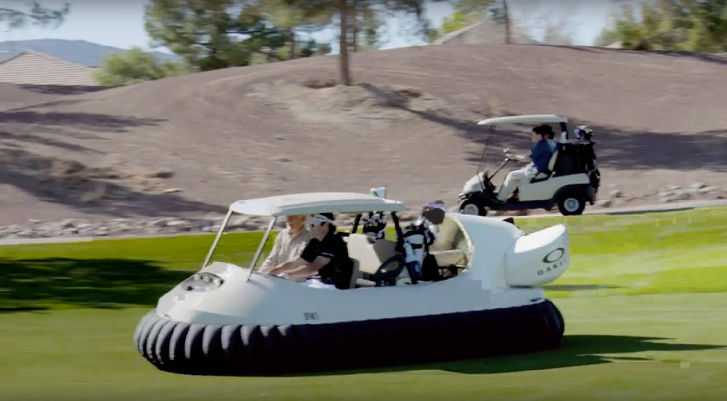 Hovercraft Golf Cart - The Green Head on golf carts pull type, golf car boat, shoes boat,