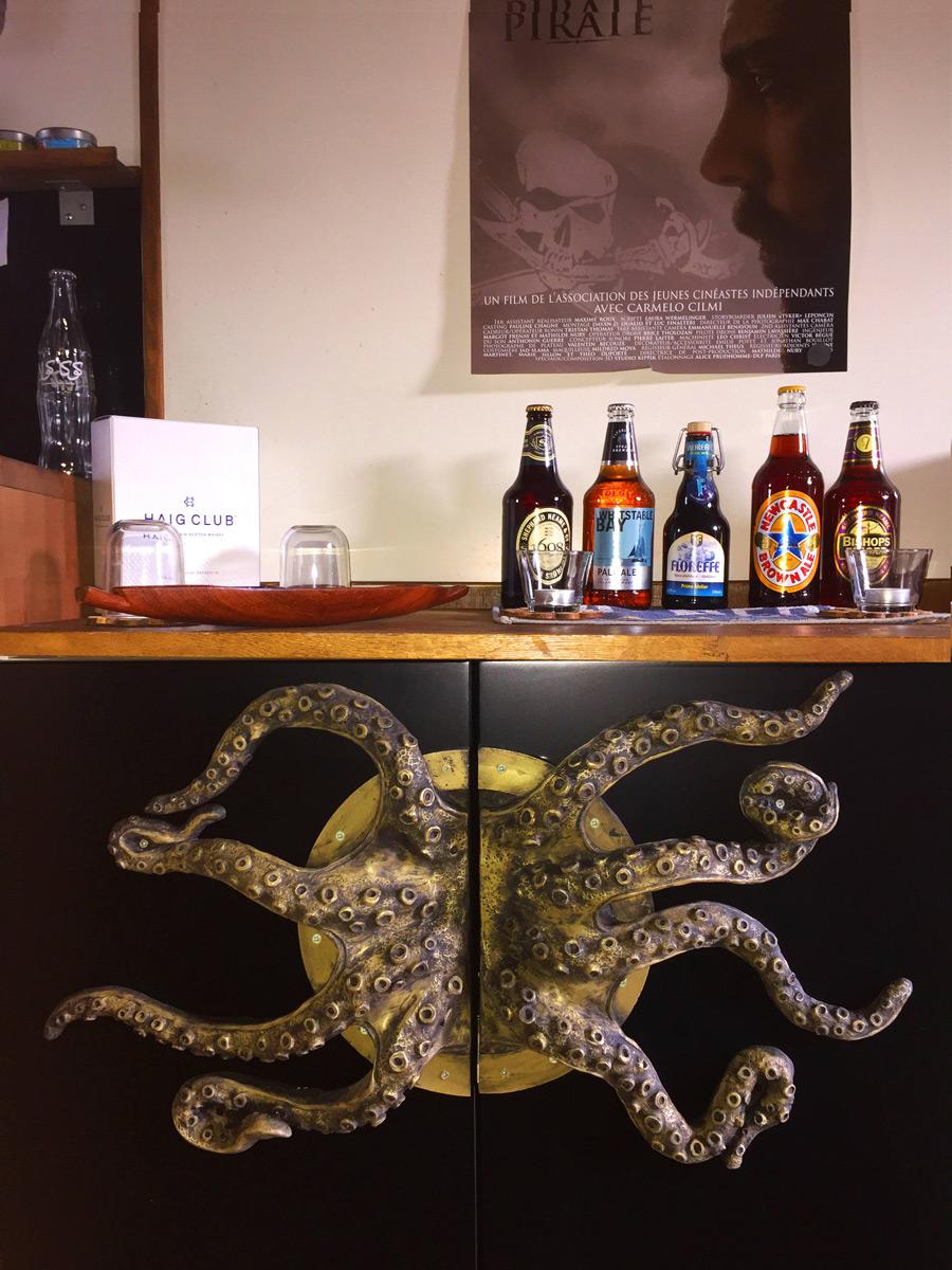 Huge Octopus Arms Door Handles