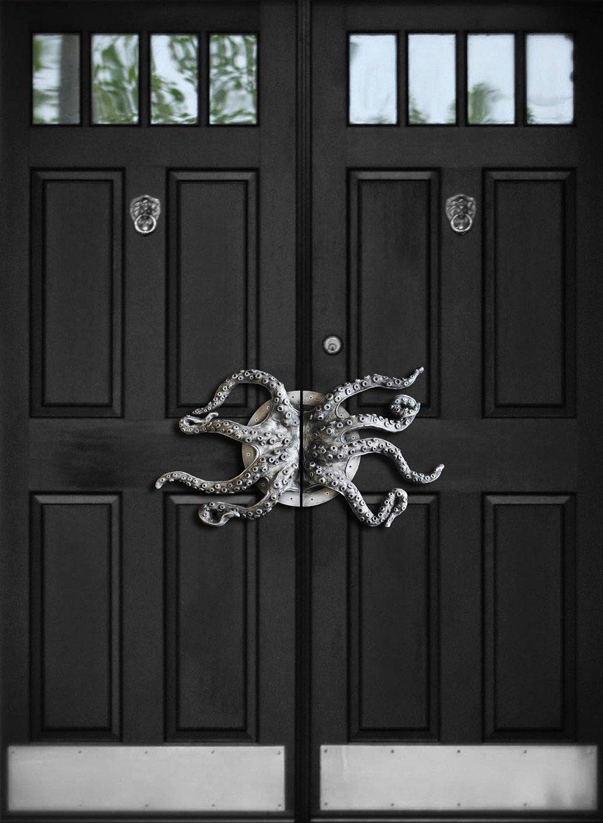 Huge Octopus Arms Door Handles & Huge Octopus Arms Door Handles - The Green Head