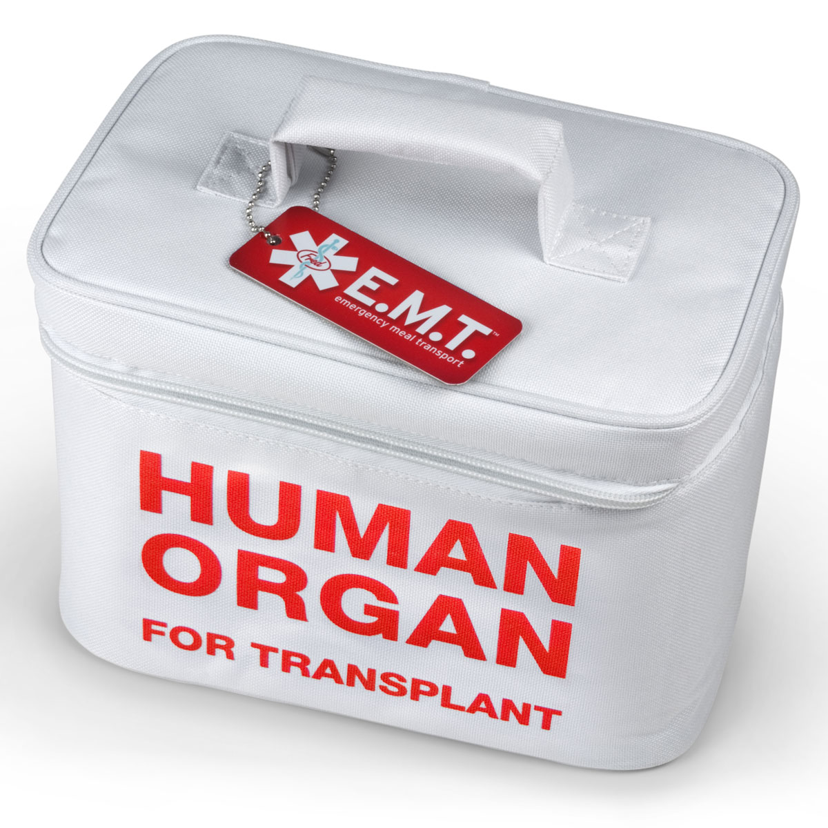 Human Organ For Transplant - Insulated Lunch Tote