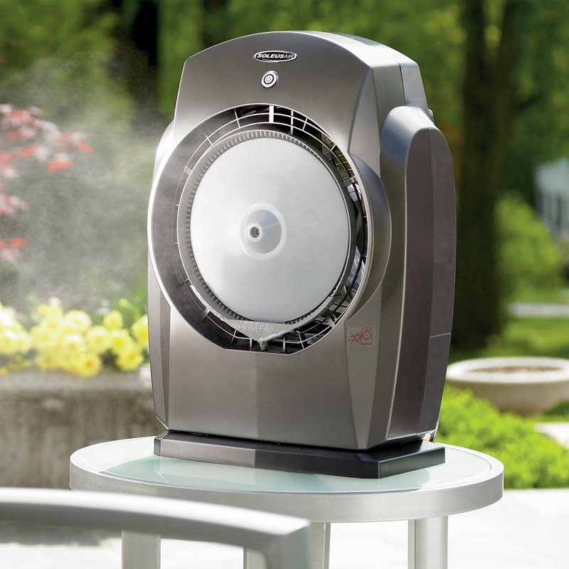 Portable Misting Systems : Humidibreeze portable misting system the green head