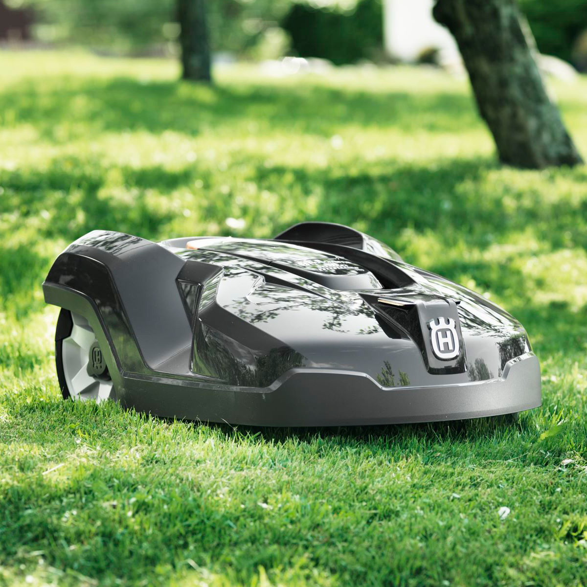 how to start husqvarna lawn mower