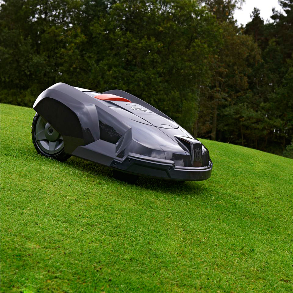 husqvarna automower robotic lawn mower the green head