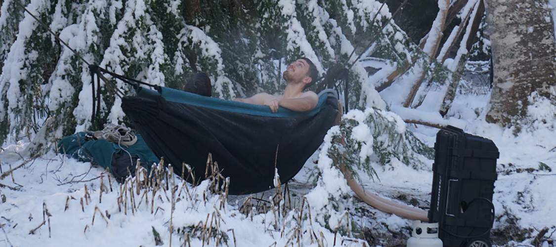Hydro Hammock - Portable Hot Tub Hammock - The Green Head