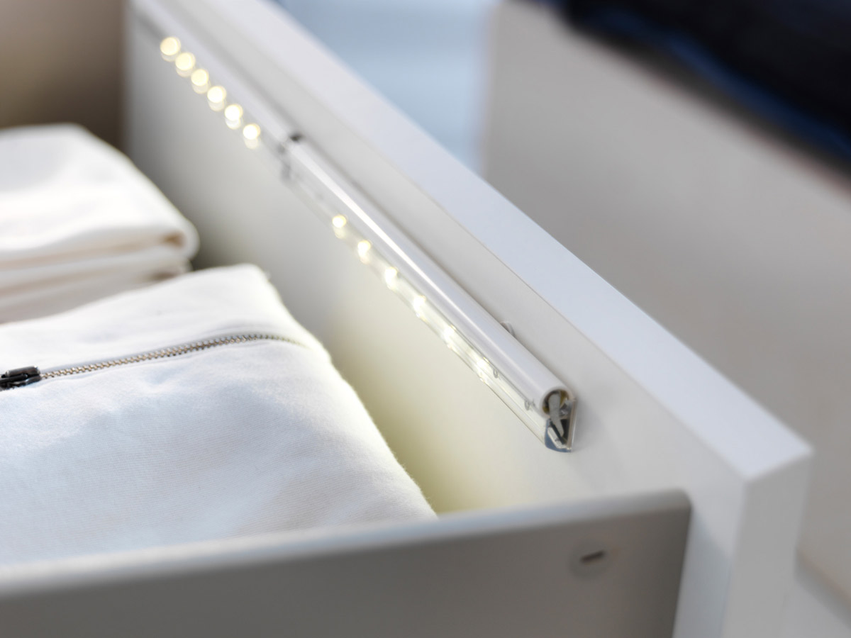 Ikea dioder led drawer lighting the green head - Ikea iluminacion led ...