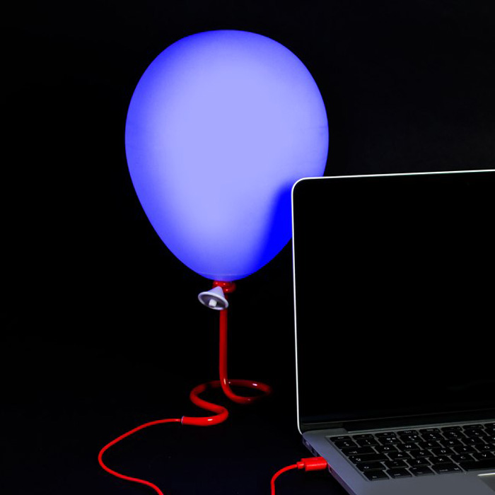Illuminated Balloon Lamp