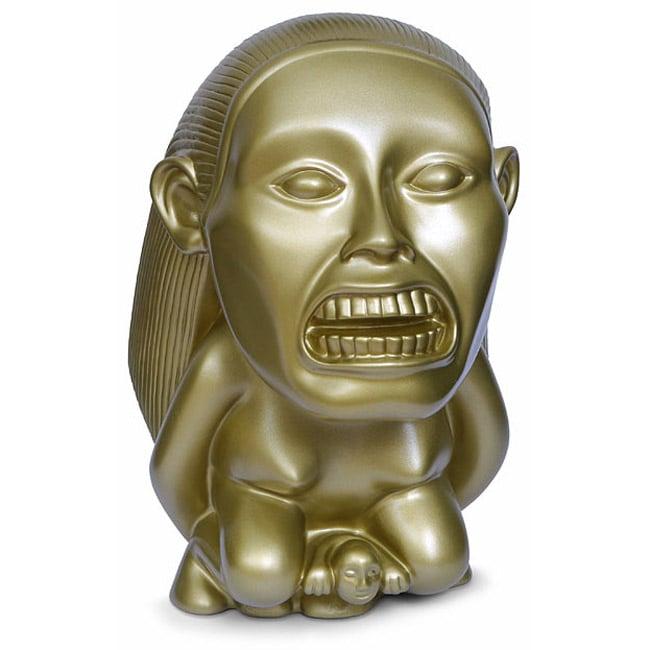 indiana jones golden fertility idol bank the green head