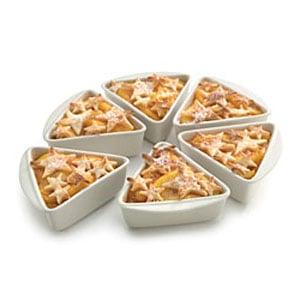 Individual Pie Slice Pans
