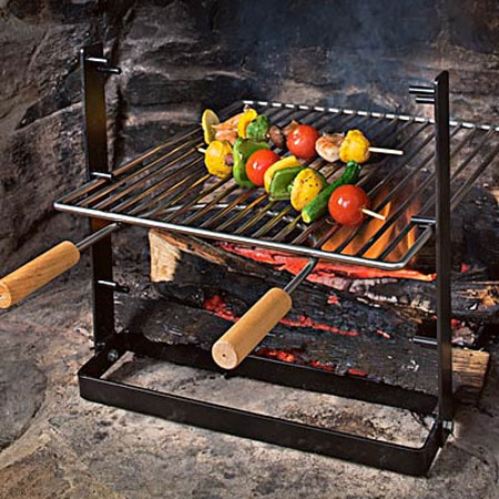 SpitJack Indoor Fireplace Grill The Green Head