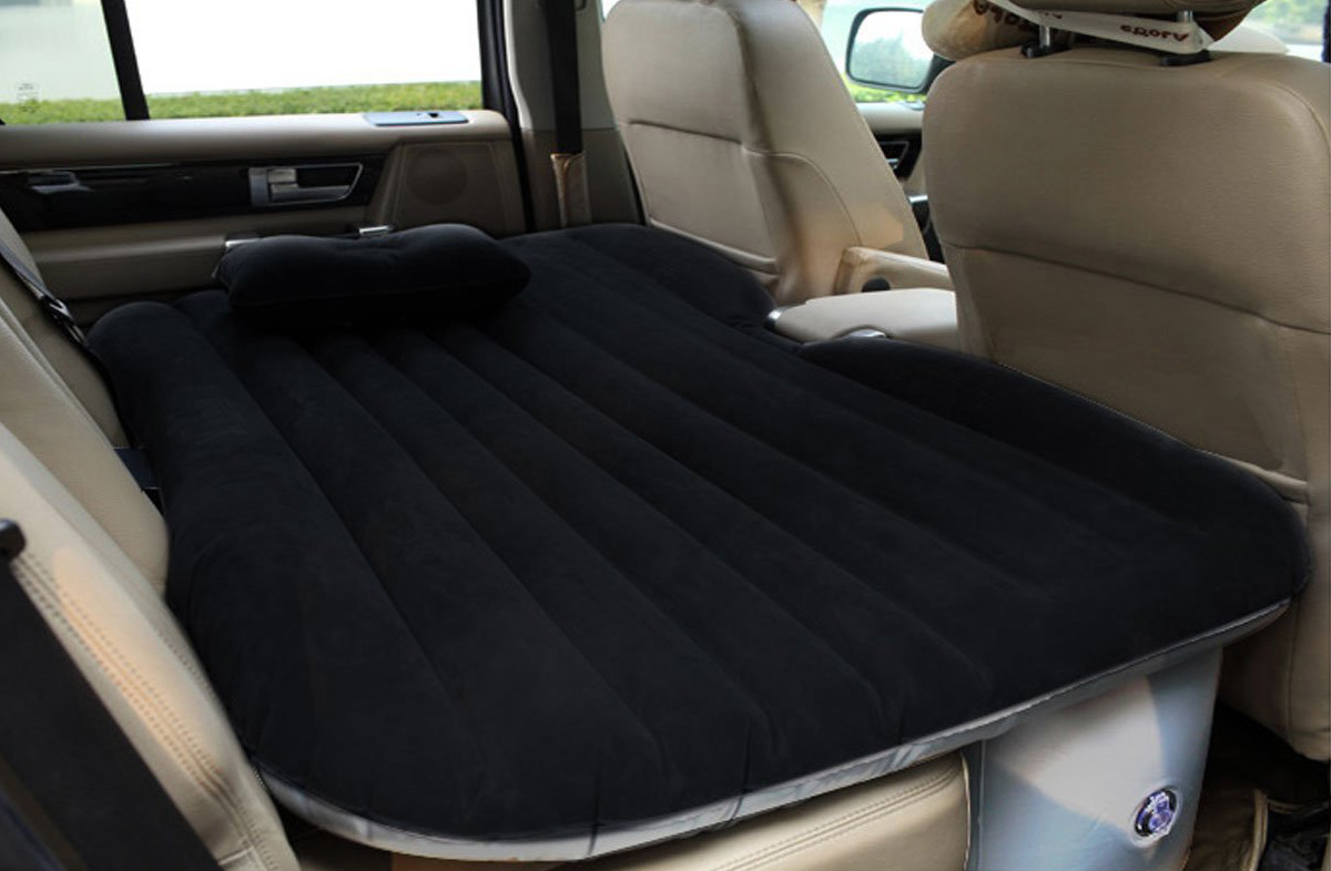 Backseat Inflatable Bed Inflatable Car Backseat Air Mattress The Green Head