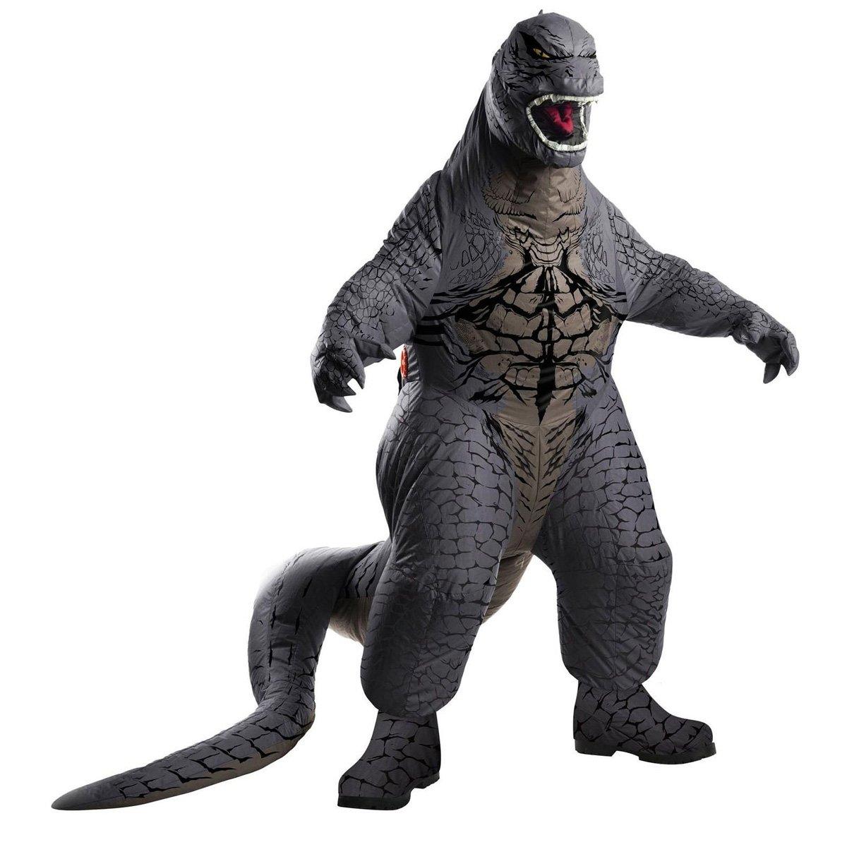 Inflatable Godzilla Costume The Green Head