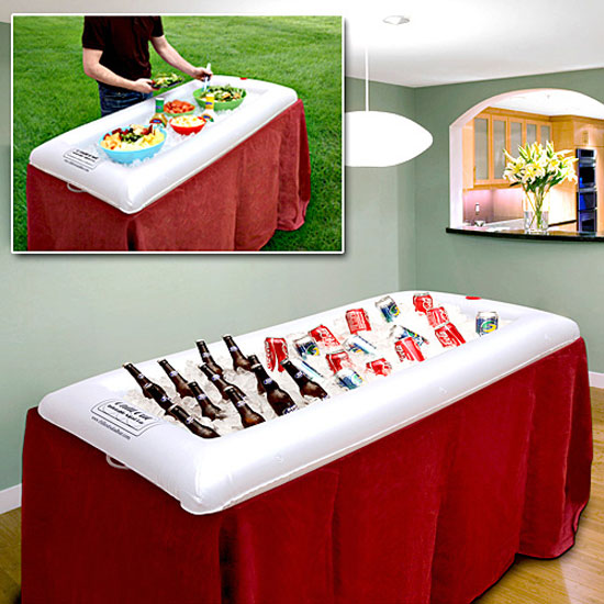 Inflatable Salad Bar / Beverage Cooler
