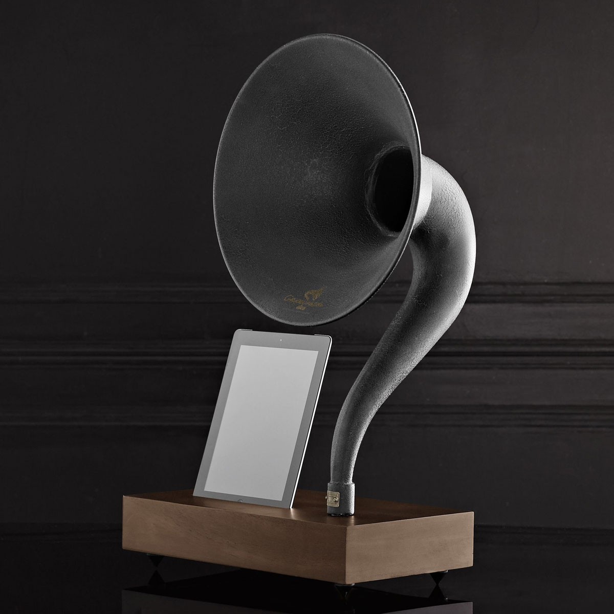 Iphone Ipad Gramophone Amplifying Speaker Horn The