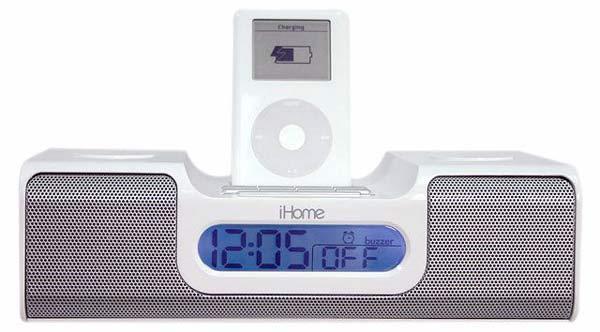 Ihome Clock Radio For Ipod The Green Head