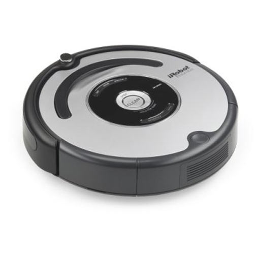 irobot roomba 560 vacuum cleaning robot the green head