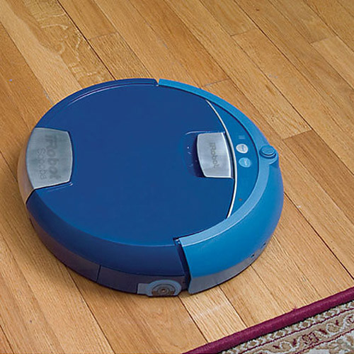 irobot scooba floor washing robot the green head. Black Bedroom Furniture Sets. Home Design Ideas