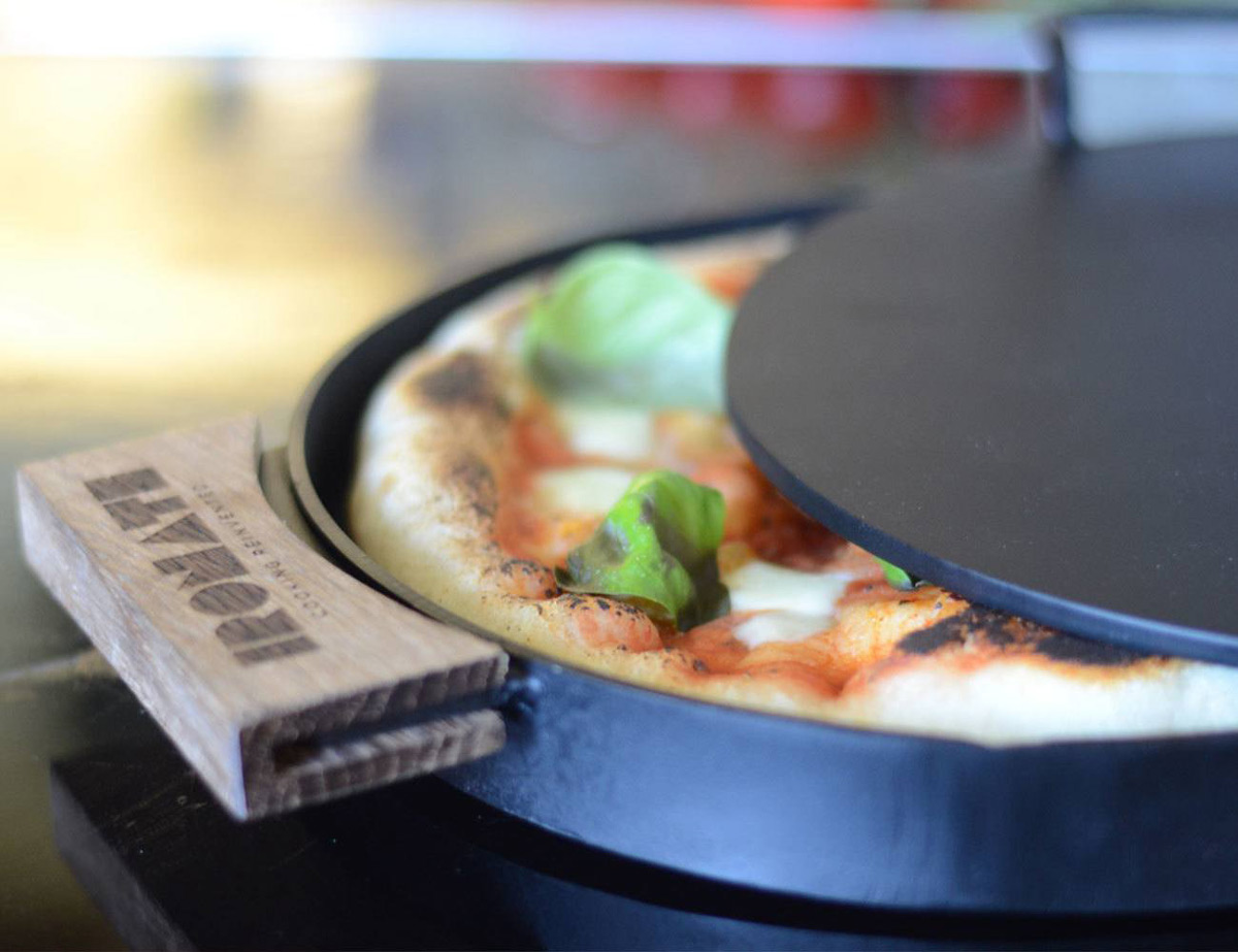 Ironate 3 Minute Stovetop Pizza Oven Reaches 800 Degrees