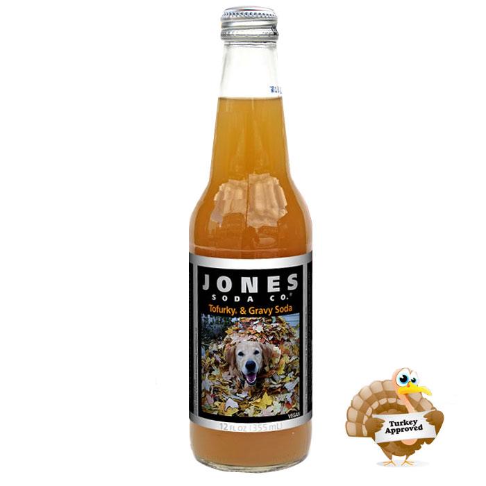 Jones Soda Tofurkey And Gravy Soda The Green Head