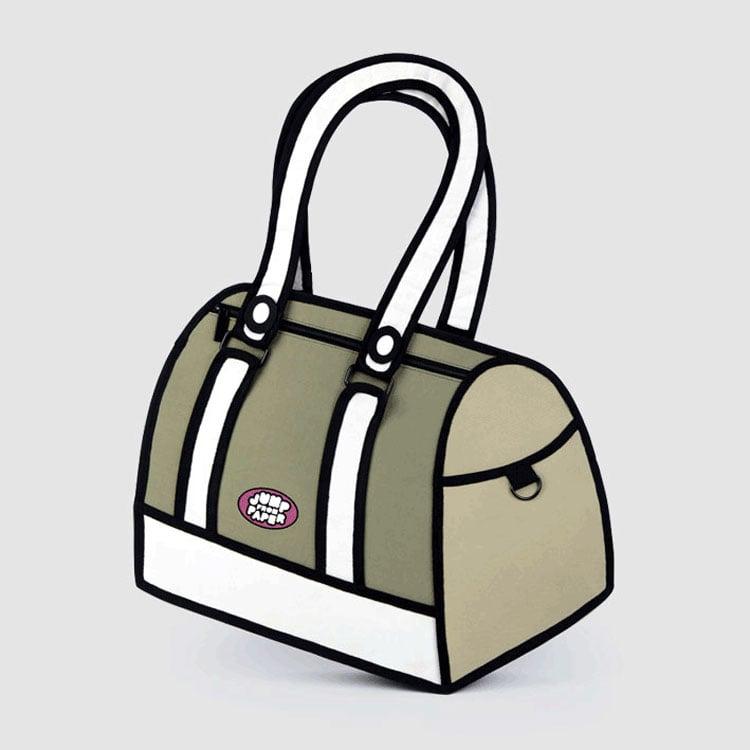 dde84404ac Jump From Paper - 2D Cartoon Bags