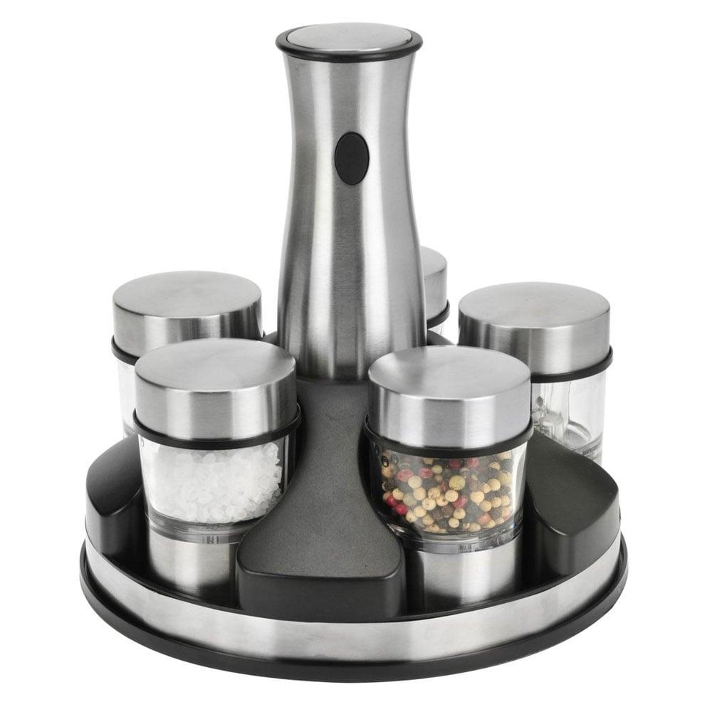 kalorik interchangeable salt and pepper grinder set  the green head - kalorik interchangeable salt and pepper grinder set