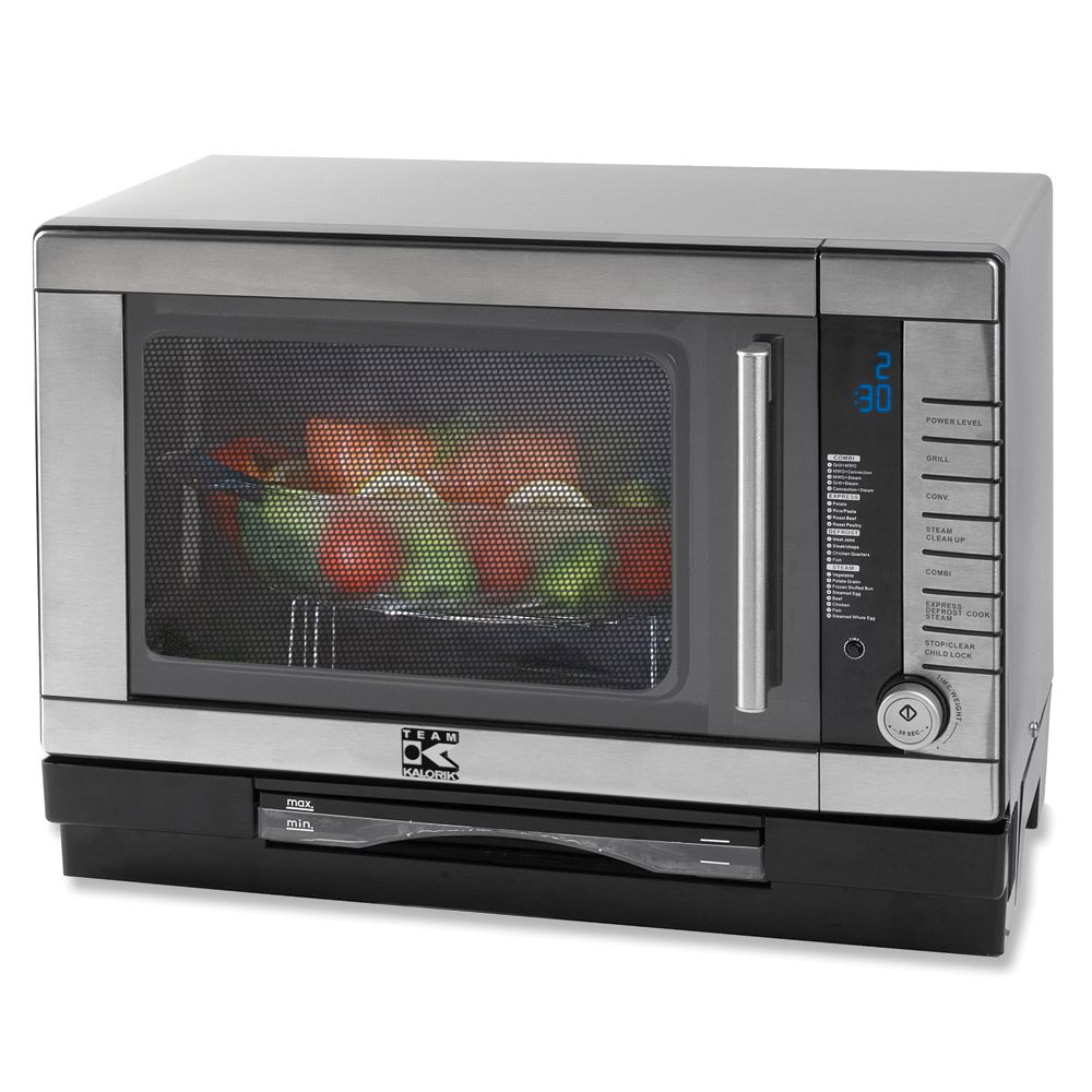 Kalorik Smart Oven Microwave Steamer Convection The