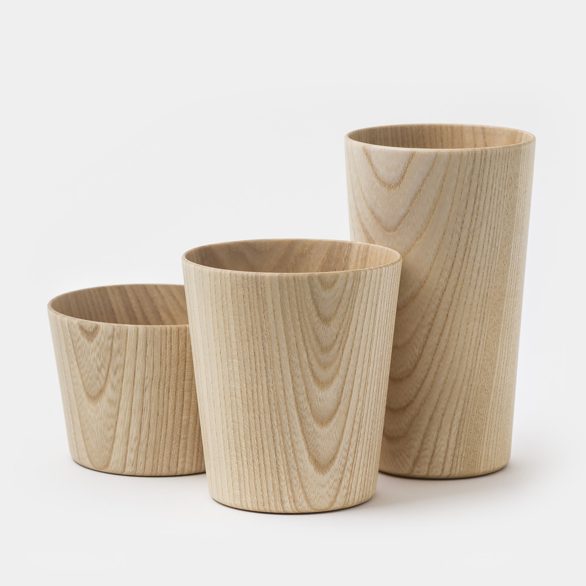 Kami Wood Cups The Green Head