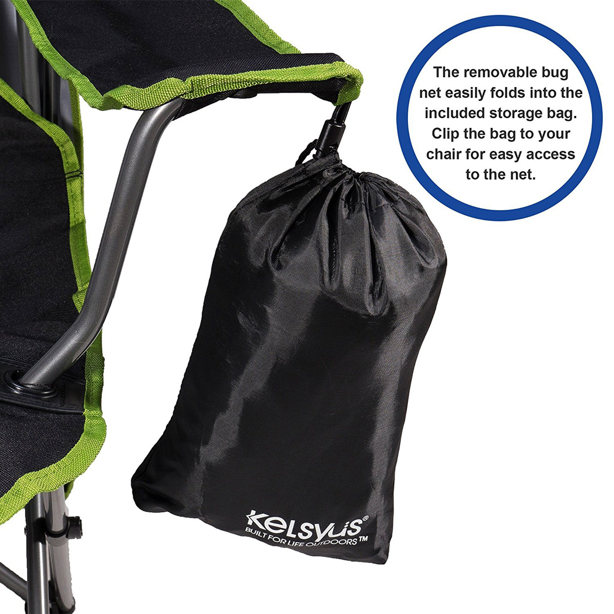 Kelsyus Canopy Chair with Removable Mosquito / Bug Net  sc 1 st  The Green Head & Kelsyus Canopy Chair with Removable Mosquito / Bug Net - The Green ...