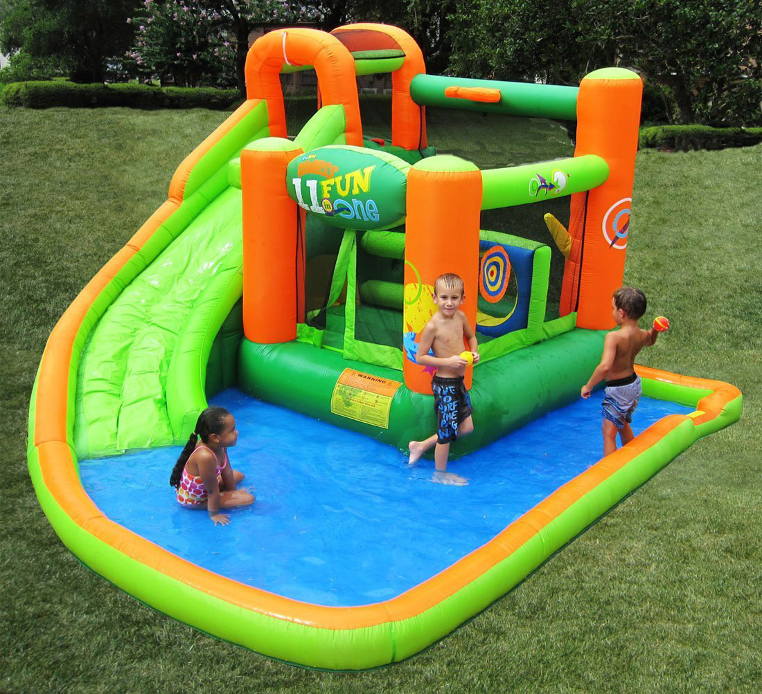 Kidwise Endless Fun 11 In 1 Inflatable Bouncer And Water