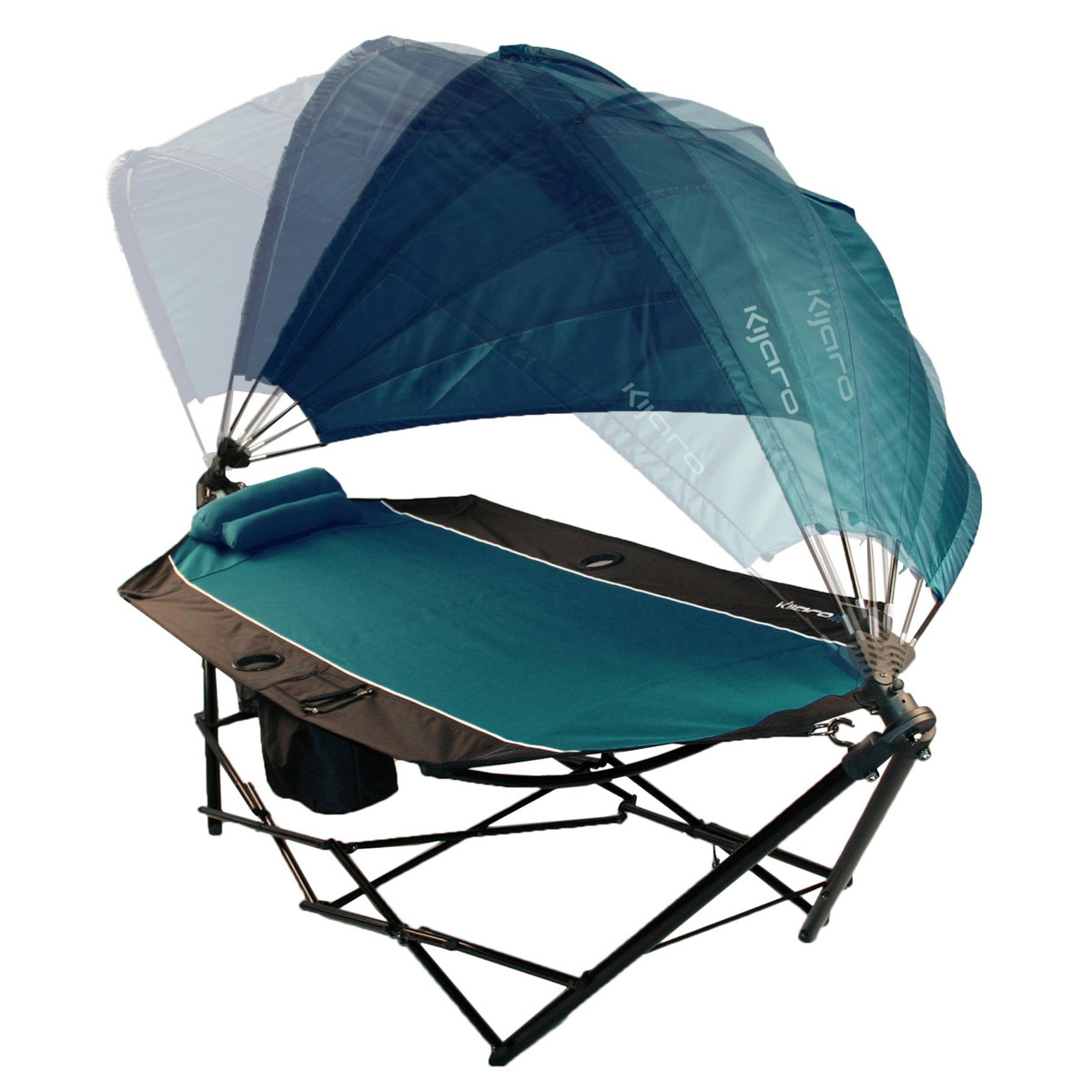 Very Kijaro - Portable Hammock With Canopy and Cooler - The Green Head RT95