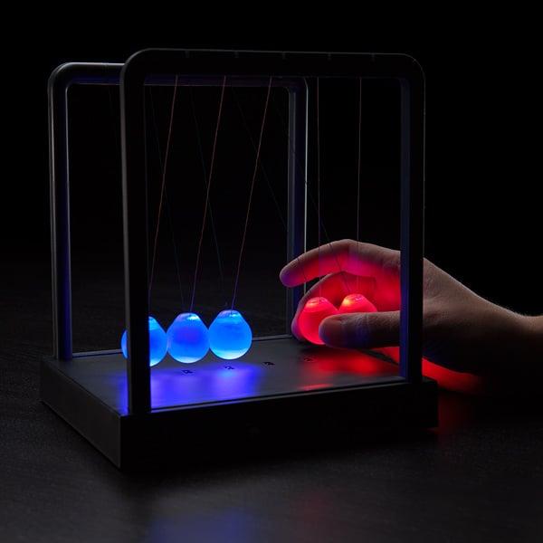 Kinetic Light Newton S Cradle