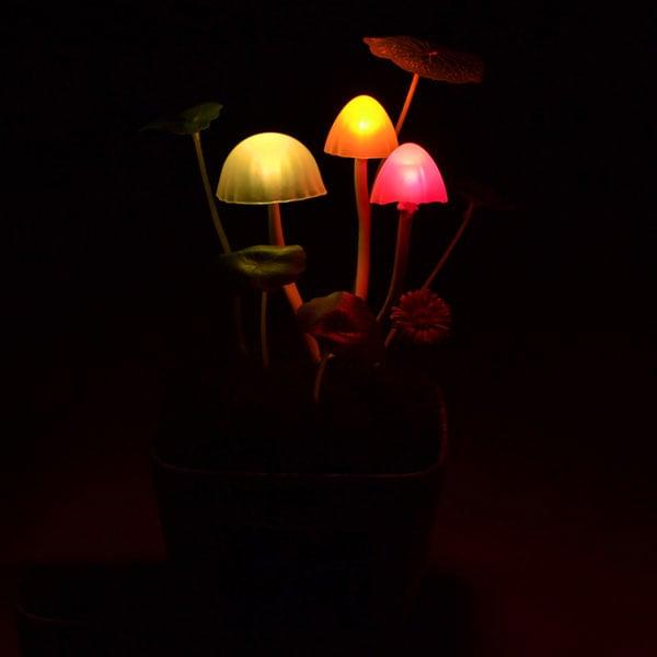 Kinoko Customizable Mushroom Lamp The Green Head