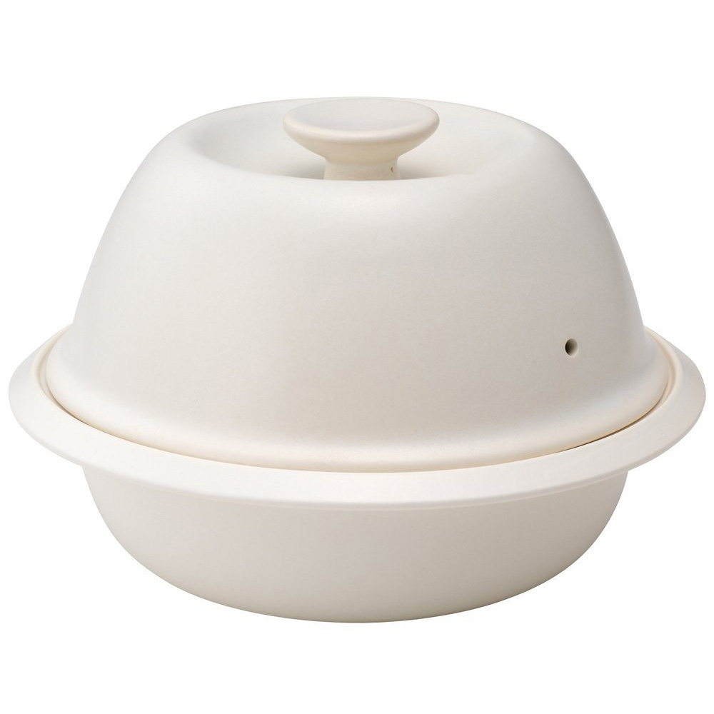 Kinto Cocoon Ceramic Steaming Pot