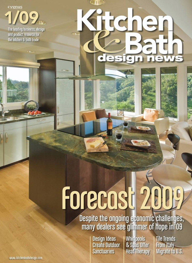 Free kitchen bath design news magazine the green head for Designs magazine
