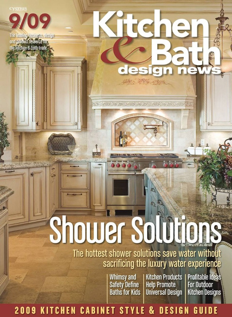 Free kitchen bath design news magazine the green head for Kitchen and bath design