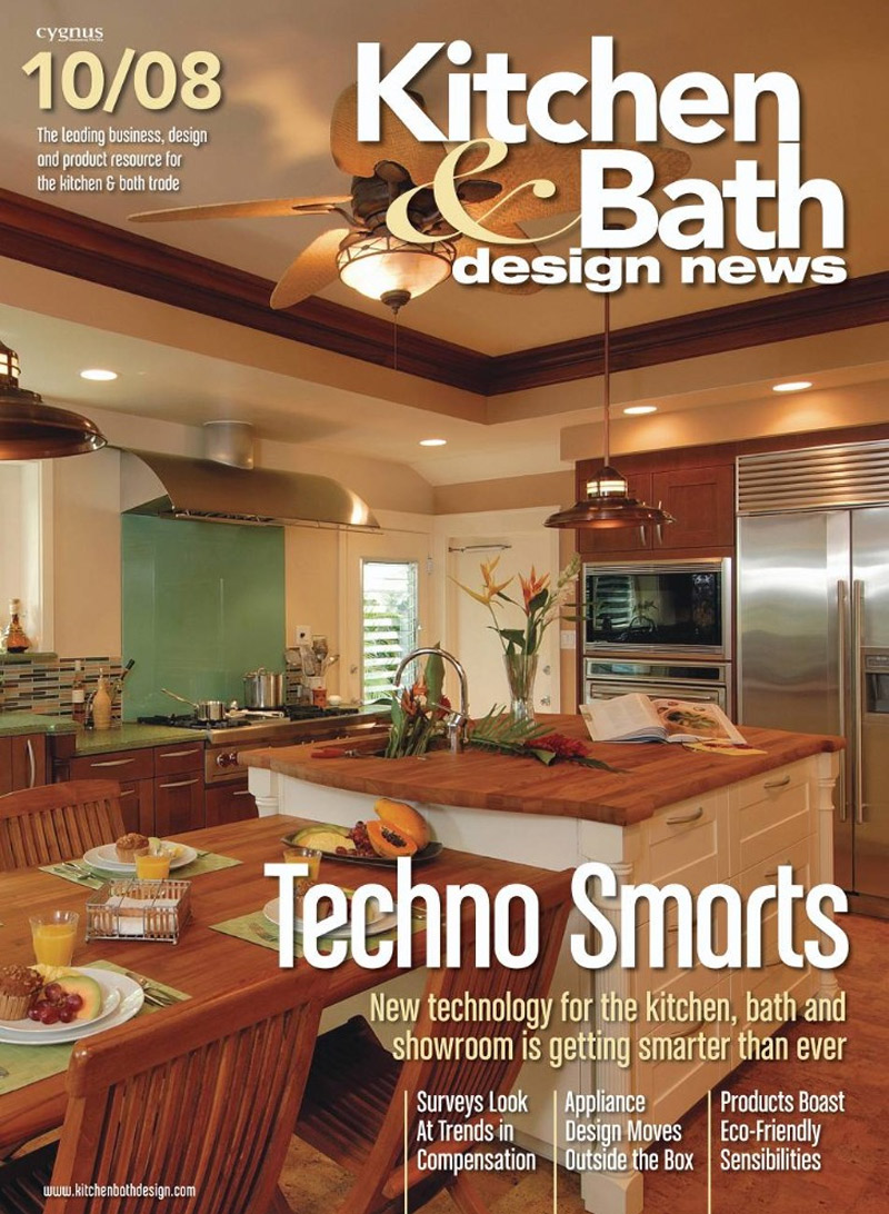 Free kitchen bath design news magazine the green head for Kitchen and bathroom