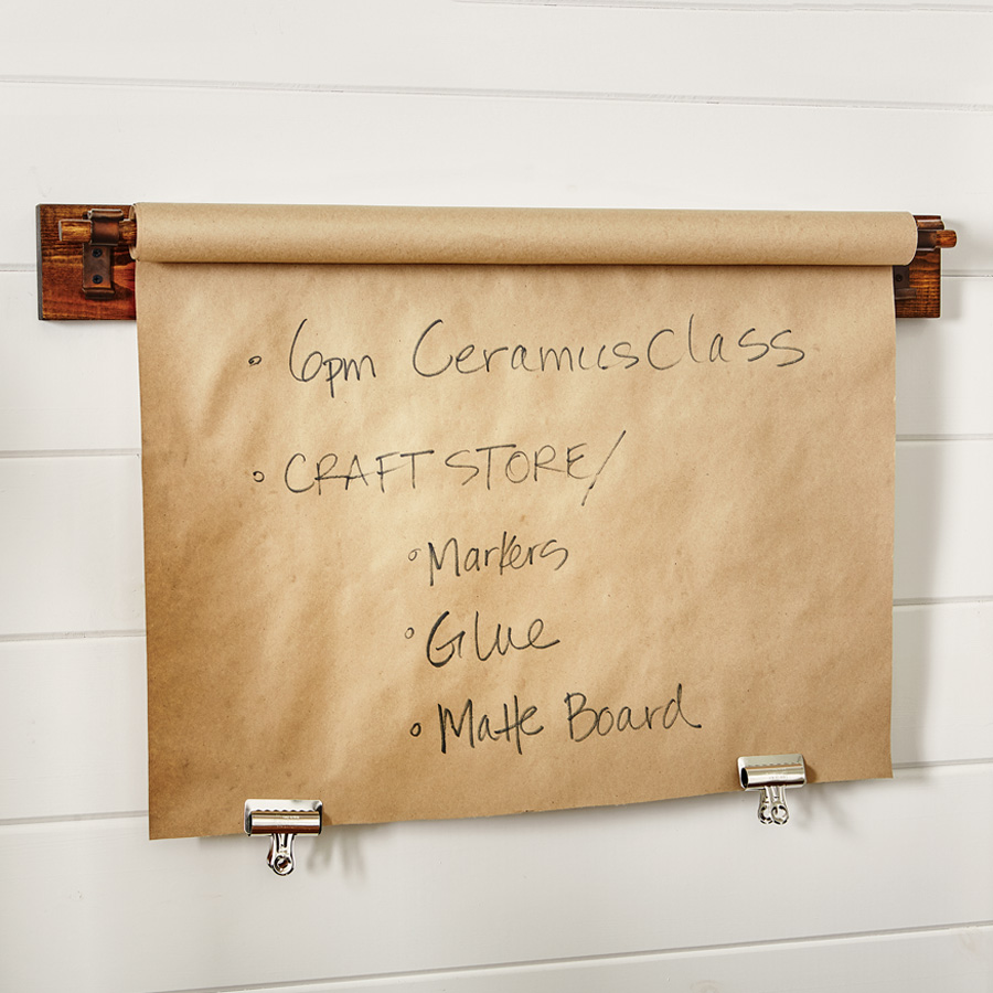 Kitchen Message Board Kitchen Roll Top Butcher Shop Paper Message Board The Green Head