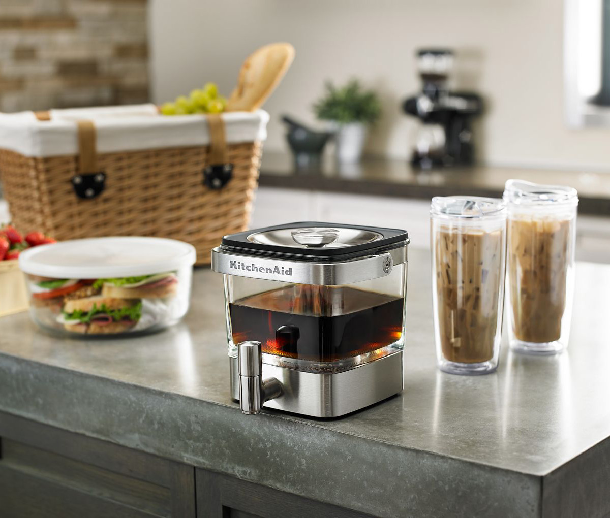 Coffee Maker Funny Taste : KitchenAid Cold Brew Coffee Maker - The Green Head