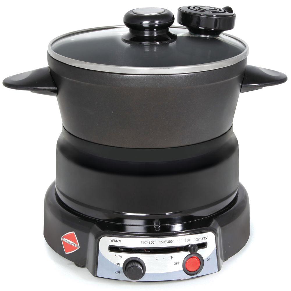 Kitchenstir Self Stirring Electric Pot The Green Head