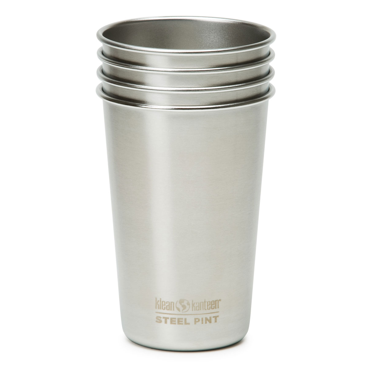 klean kanteen stainless steel pint cups the green head. Black Bedroom Furniture Sets. Home Design Ideas
