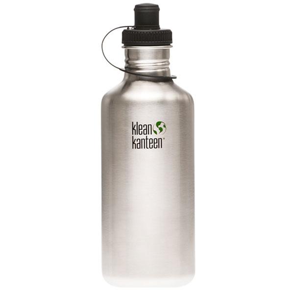 Klean kanteen stainless steel water bottles the green head