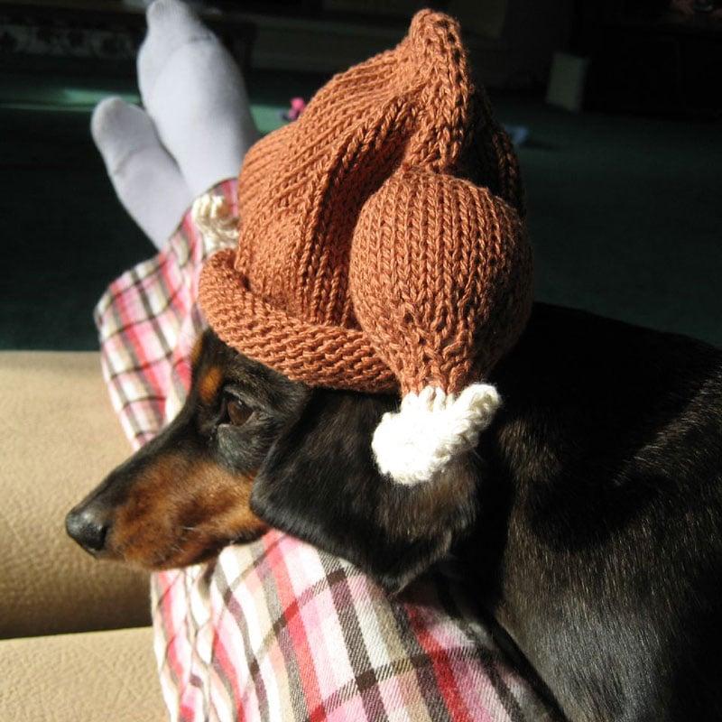 Wonderful Knitted Turkey Baby Hat - The Green Head GX55