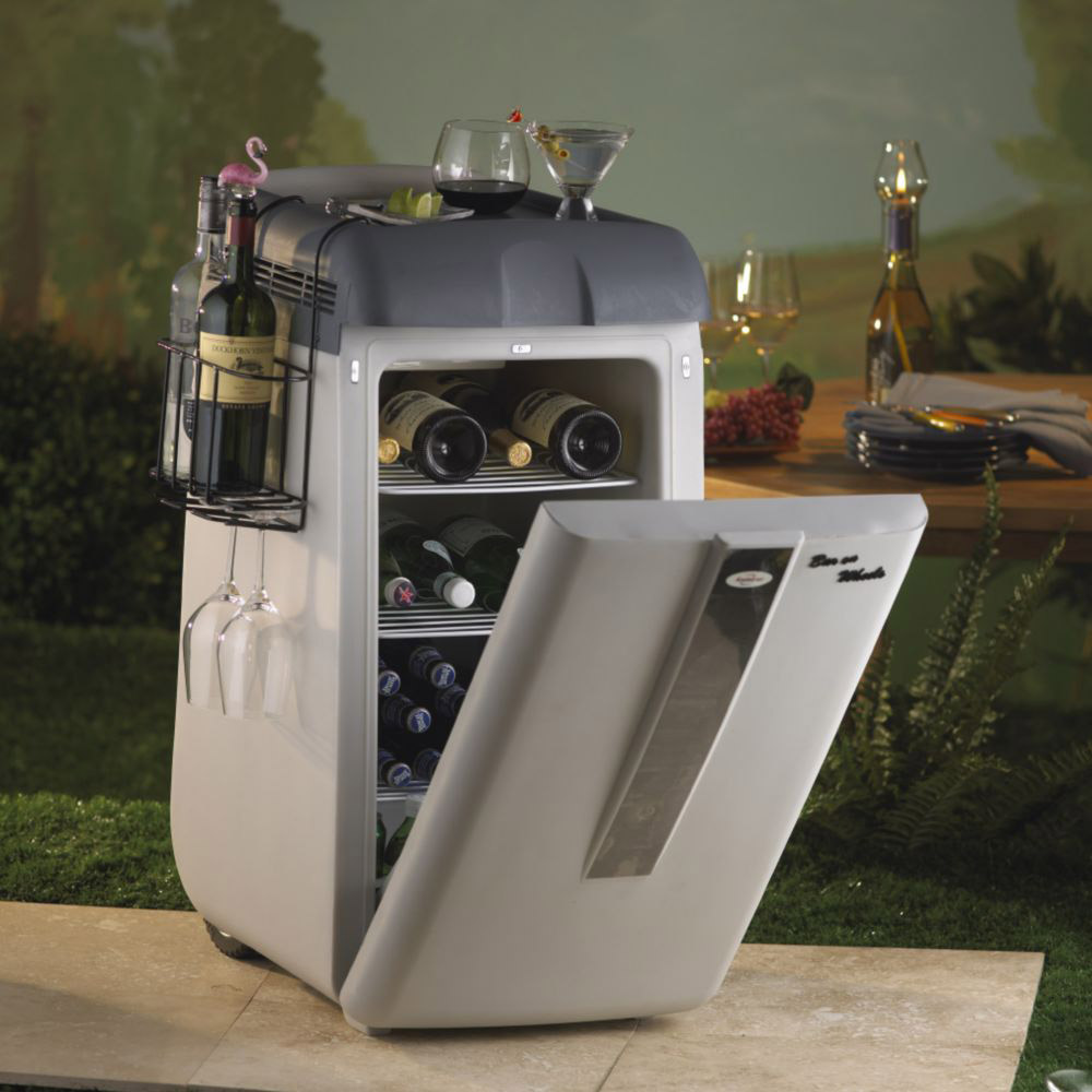 Koolatron Portable Bar On Wheels The Green Head