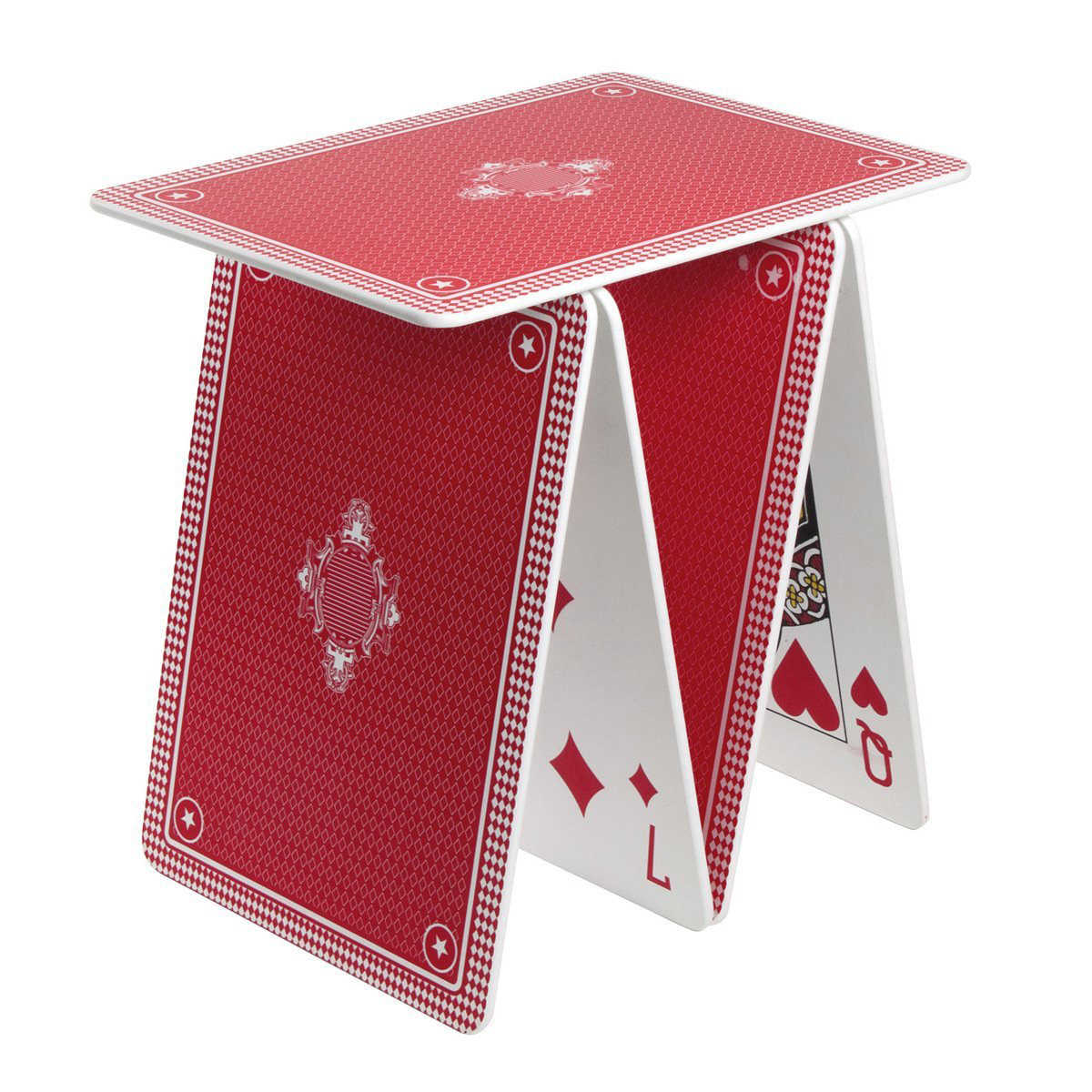 A La Carte Stackable Playing Card Table Shelf The