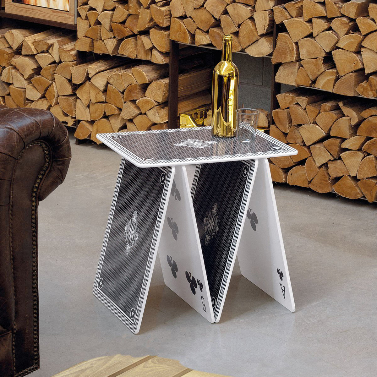 A La Carte   Stackable Playing Card Table / Shelf