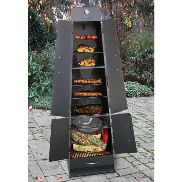 Landmann Quadque Ultimate Fireplace Grill Smoker
