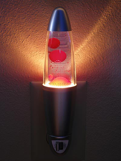 Marvelous Lava Lamp Night Light Home Design Ideas