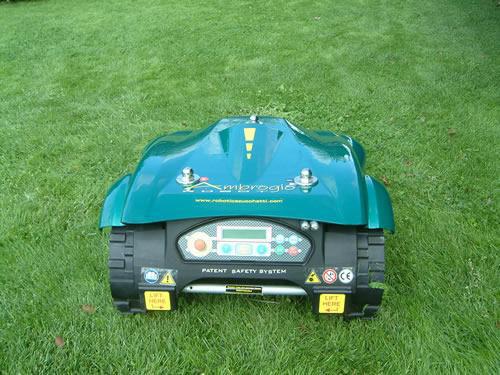 Lawnbott Lb3500 Robotic Lawn Mower And Bluetooth