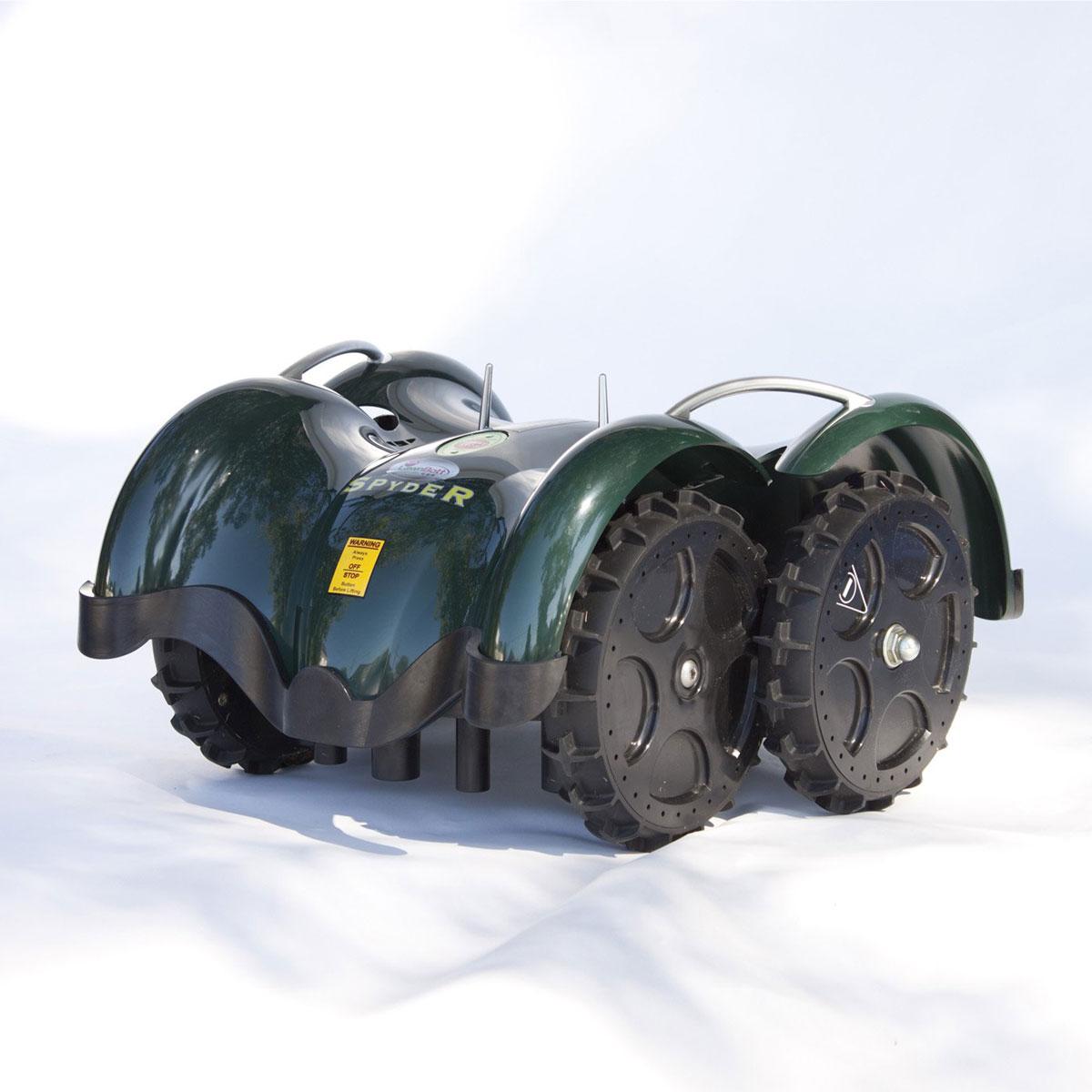 Lawnbott Spyderevo Robotic Lawn Mower The Green Head