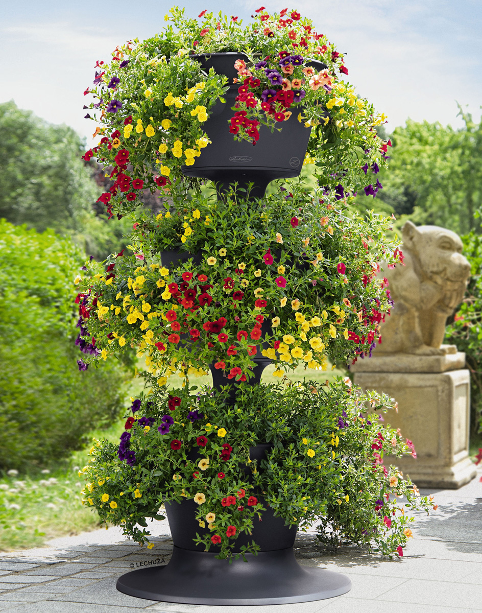 Lechuza Cascada Stackable Self Watering Planters